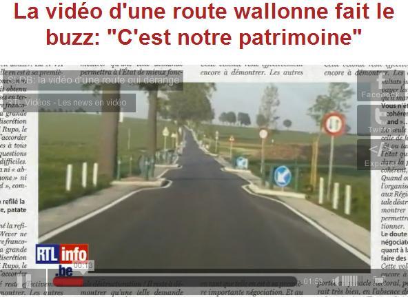 250 panneaux de signalisation sur 5 km à wallonne-mesfavorisites.com