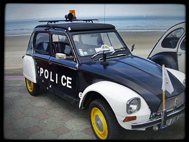 humour la police