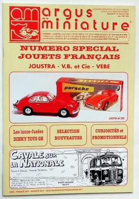 Ce numéro spécial étudie deux grandes marques françaises de jouets en tôle : JOUSTRA & VEBE
