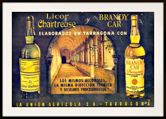 Publicité affiche de la chartreuse