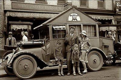 Les plus anciens Vintage Camping- Car de 1929