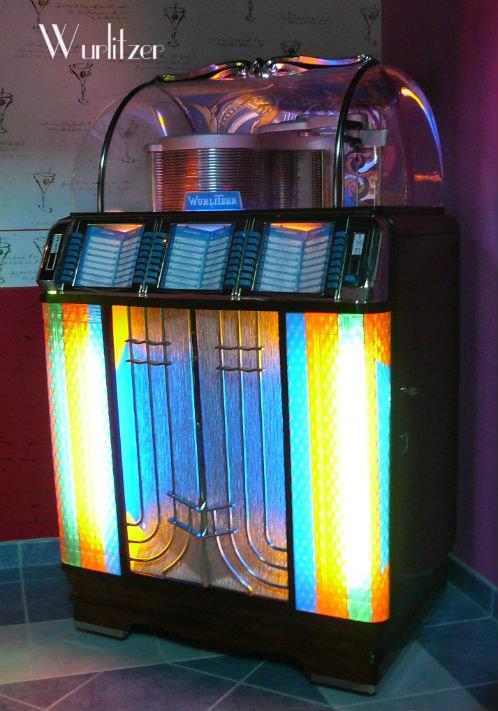 jukebox- des -années- 60- wurlitzer