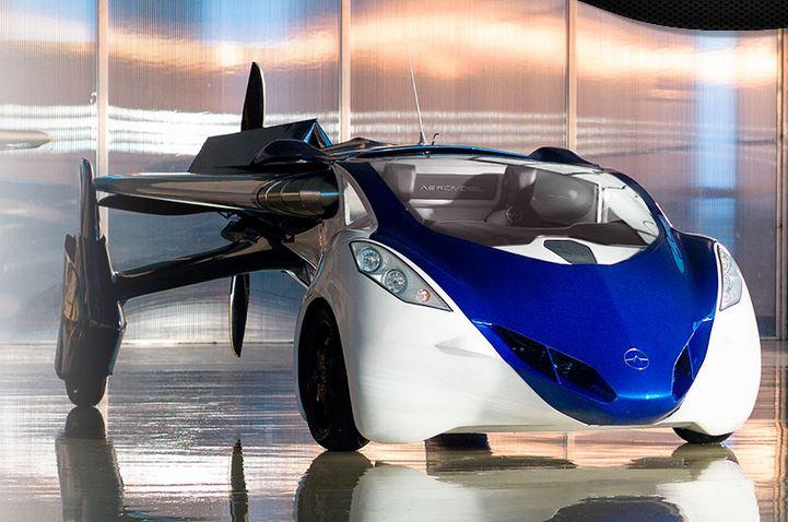 AeroMobil 3.0 - La vraie voiture volante de 2015