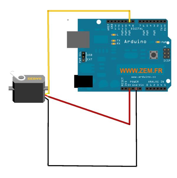 arduino-mini-servo