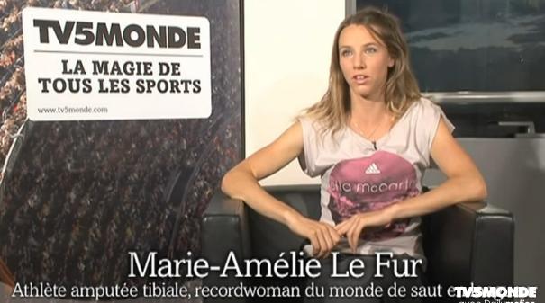 Paralympiques - Marie-Amélie Le Fur - Vidéo Dailymotion_mesfavorisites.com j.o de londres