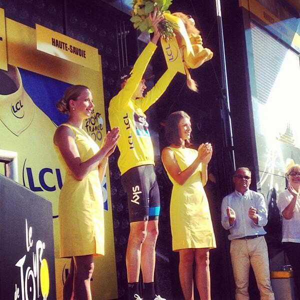 Chris Froome, n`a jamais été aussi près de remporter le Tour 100e!