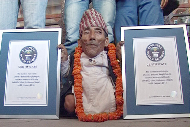 Chandra Bahadur Dangi_plus_petit homme _du_Monde