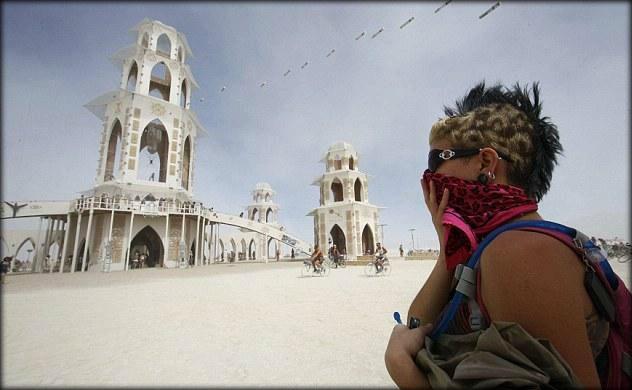 le festival Burning Man a débuté pour sa 25e année