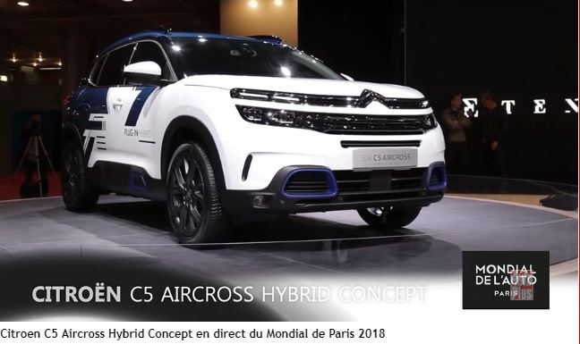 Citroën-c5-aircross -Hybrid-concept