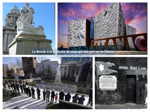 commémoration -de -ceux -qui- ont- péri- sur- le -Titanic
