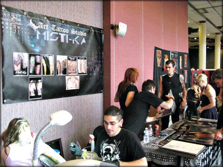 franck de Misti-Ka Art Tattoo Studio CONVENTION DE TOULOUSE