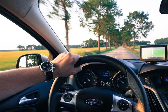 de conduire, voiture, navigation, vitesse, la conduite automobile, route,