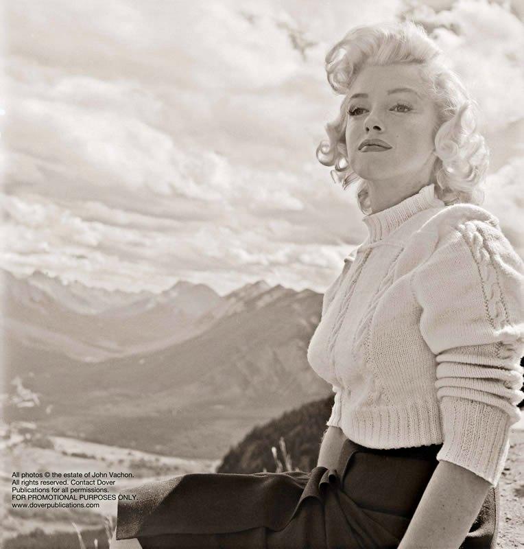Des photos inédites de Marilyn Monroe -1953_mesfavorisites.com