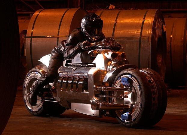 Dodge Tomahawk La Moto La Plus Rapide Du Monde