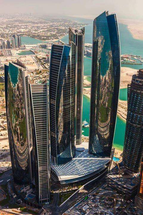 Etihad Towers-Abu-Dhabi