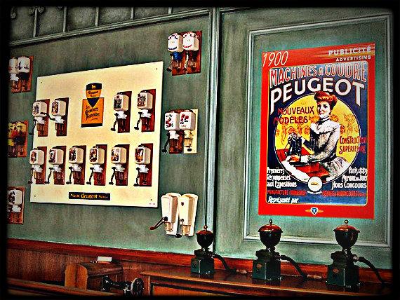 Exposition- musée- Peugeot -de- moulins- à -café