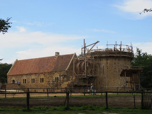 France_ Château _Guédelon_reconstruction _historique