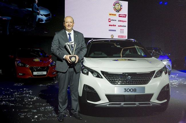 Genève- International -Motor Show -2017 _Voiture de l`année 3008- Jean-Philippe Imparato