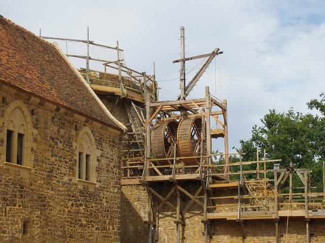 Guedelon_ France _Château