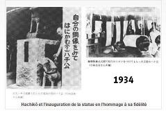 HACHIKO inauguration_statue_hommage_à-sa-fidélité