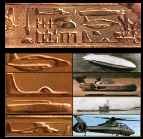 hiéroglyphes_insolites_avion_fusée _hélicoptère