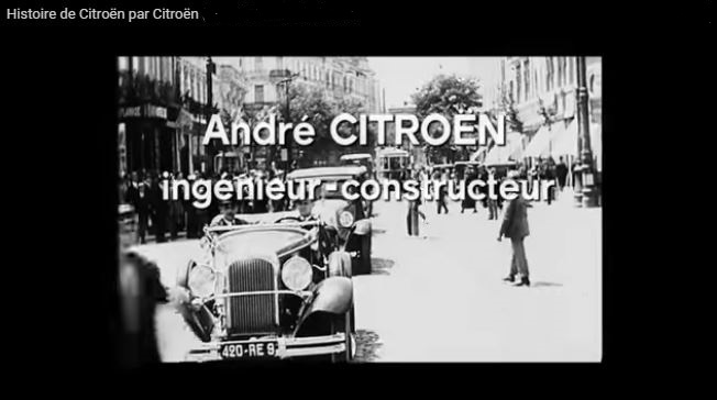 la petite histoire du tube h de citroen. Black Bedroom Furniture Sets. Home Design Ideas