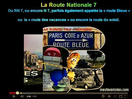 image- vidéo- la route- nationale 7-