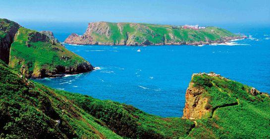 Petits ports et plages de sable fin sont un ravissement sur Jersey