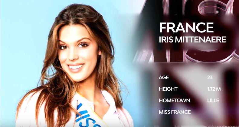iris-Mittenaere-candidate miss univers -2017