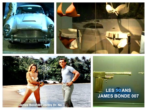 James Bond 007 contre Dr. No_les_50_ans-de_james_Bonde_mesfavorisites.com