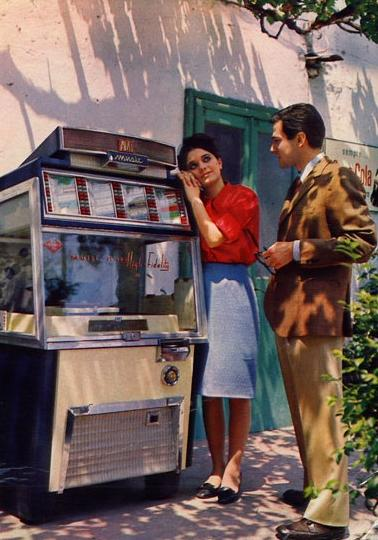 JUKEBOX -ann�e 1960