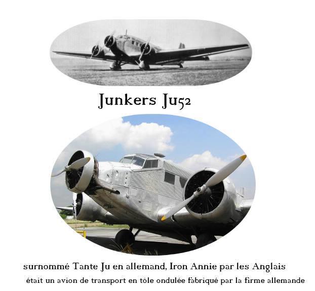 Junkers Ju52 en tôle ondulée