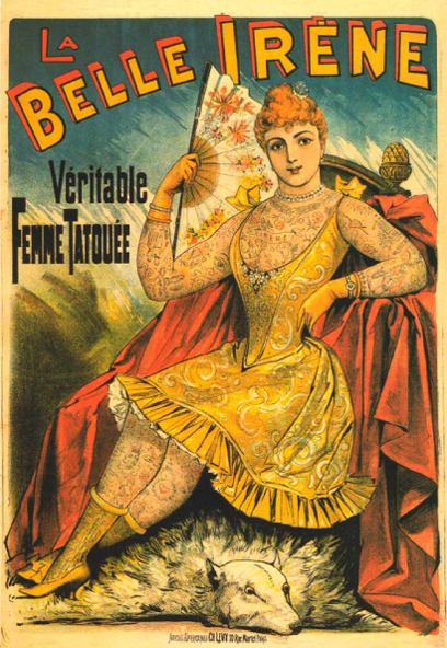 La-belle-irene-femme-tatouée