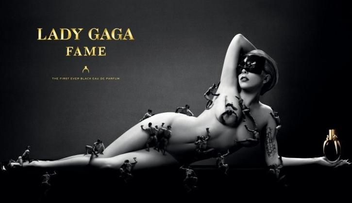 Lady-Gaga_nue_fait le buzz _pour_FEM_son_noveau_parfin_site _mesfavorisites