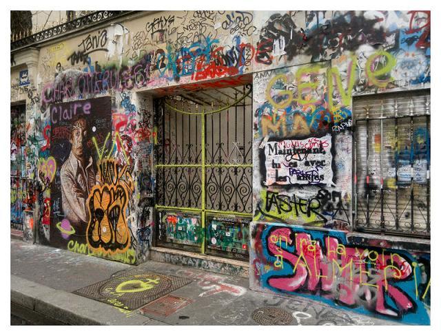 façade-maison-Serge -Gainsbourg