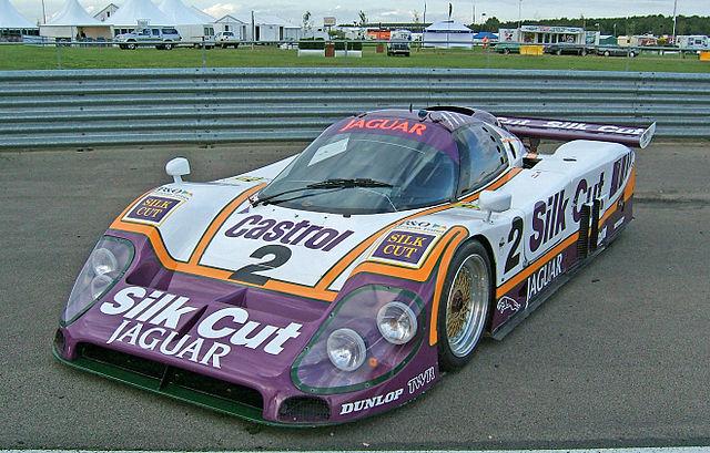 La Jaguar XJR-9LM, victorieuse de l`édition 1988