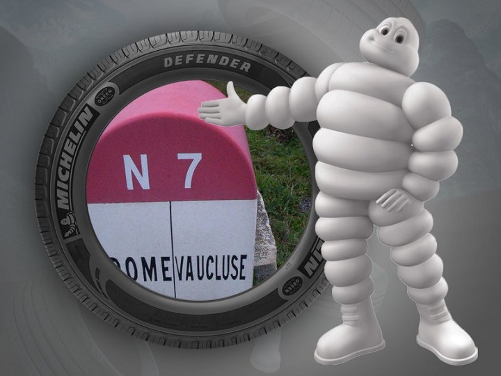 la nationale 7 Michelin