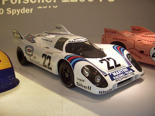 La Porsche 917K_ victorieuse_ de l`édition 1971