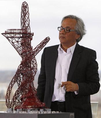 L`artiste- britannique- Anish -Kapoor - j.o-2012