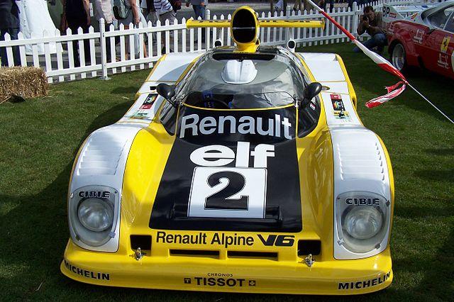 La Renault Alpine A442B_ victorieuse de l`édition 1978