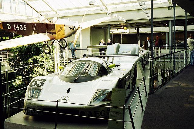 La Sauber C9,_victorieuse de l`édition 1989