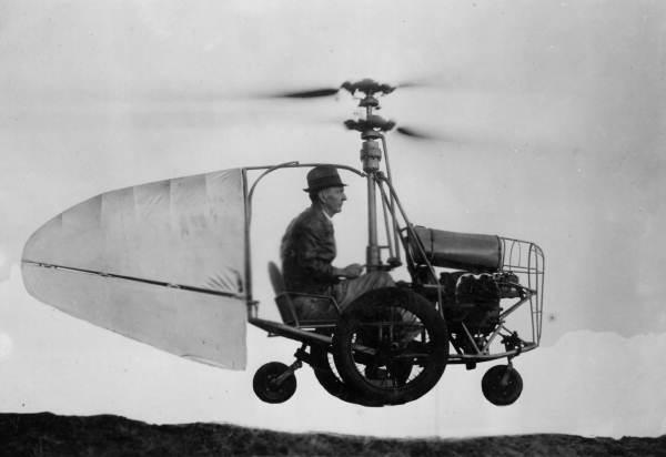 l`Autocoptère de Jess Dixon_ environ 1940
