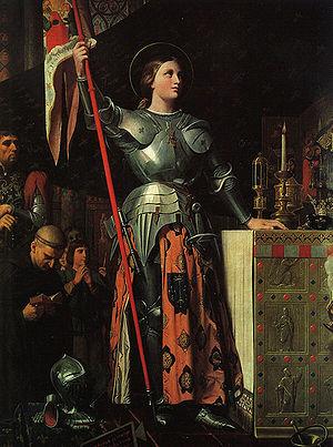 Le 17 juillet 1429, dans la cathédrale de Reims en la présence de Jeanne d`Arc Charles VII est sacré par l`archevêque Renault de Chartres