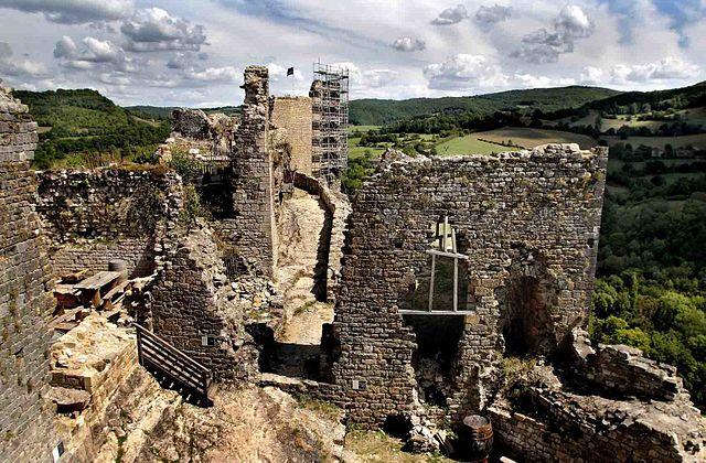 Le- château -médiéval -de -Penne