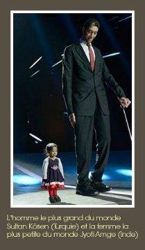 plus_ grand_ du_ monde_ Sultan_ Ksen _Turquie_ et_ la_ femme_ la_ plus _petite_ du_ monde _Jyoti_ Amge _Inde