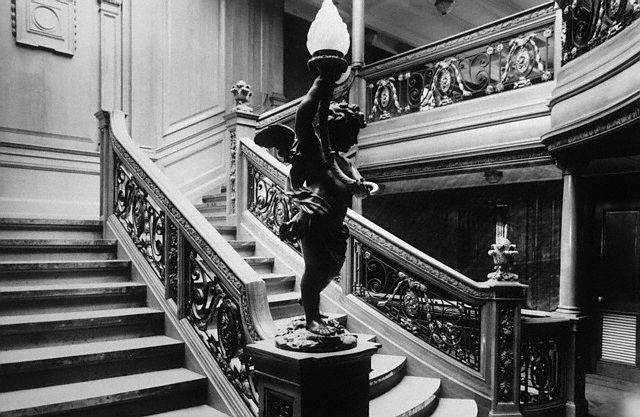 le -Grand-Escalier- DU- TITANIC.
