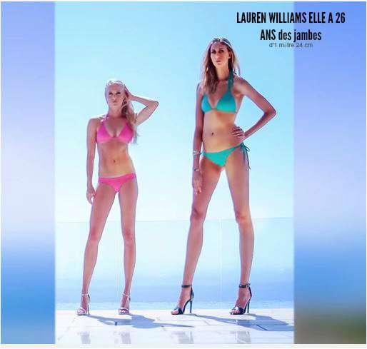 les -plus longue-jambes_LAUREN WILLIAMS