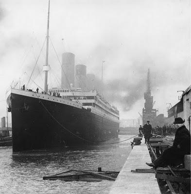 le -Titanic- avant -le- départ