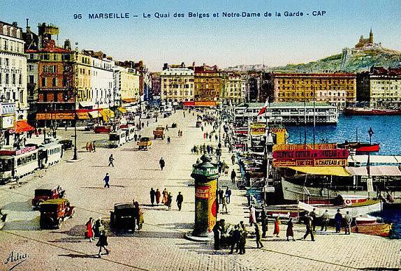MARSEILLE en 1921_mesfavorisites.com