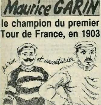 Maurice -Garin- CHAMPION- DU -PREMIER- TOUR DE FRANCE-